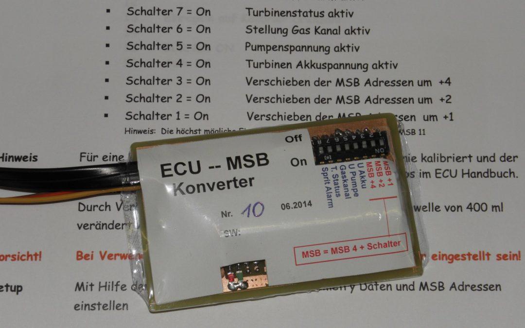 Projet ECU MSB Konverter